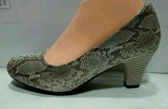 Leather official shoes @3000 image 1