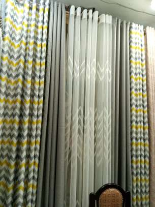 Warm living room curtains' image 5