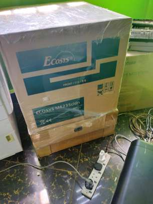 Brand new Kyocera ecosys m6235cdw colored photocopier image 1