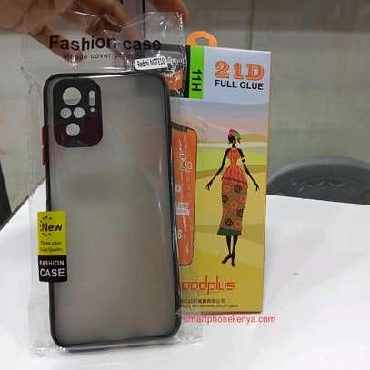 Redmi Note 10 Cover/Case & Glass protector image 1