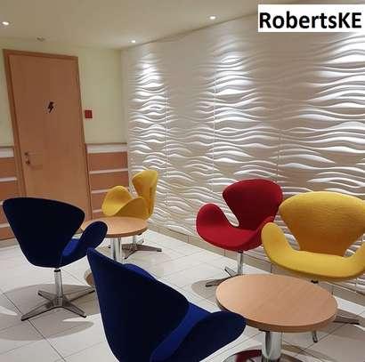 hotel interior  decor 3D wall panel image 3