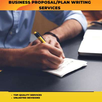 Top-Quality Business Proposal/Plan Writing Services image 1