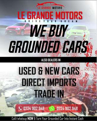 We Buy Grounded cars