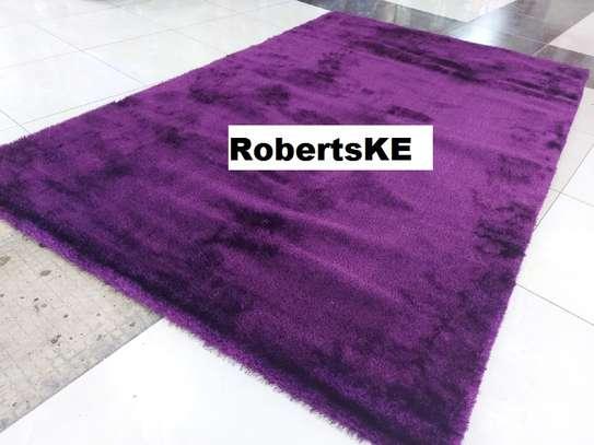 Turkish soft purple carpet image 1