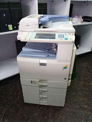 A3/A4 Colour Ricoh Aficio MP C2551 Photocopier Machine image 1