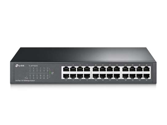 24-port 10/100Mbps Desktop/Rackmount Switch TL-SF1024D image 2