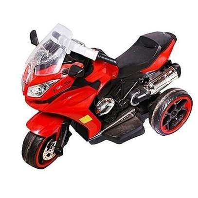 BIG Children's Classic Ride-On Motorcycle-RED(Assembled ) image 1