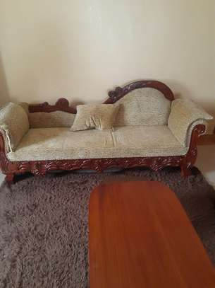 8-Seater Quality Mahogany Artic-Sofas For Sale. image 4