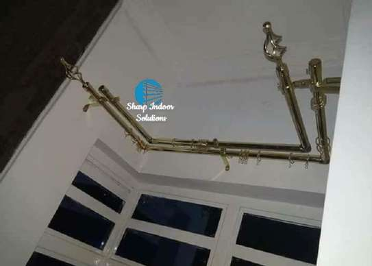 Extensible curtain rods image 1
