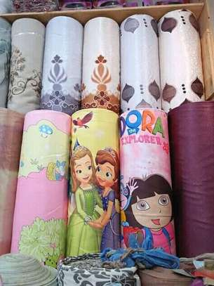 Cartoon Themed Curtains and Blinds