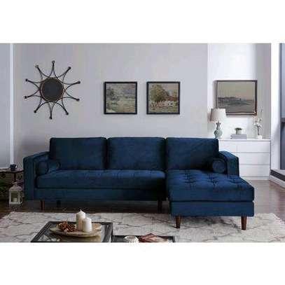 L shaped sofas/four seater sofa image 1