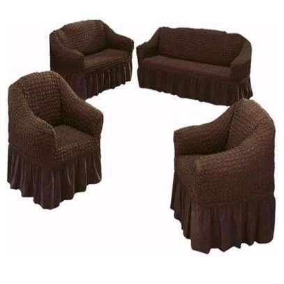Generic Stretchable Turkey Sofa Seat image 1