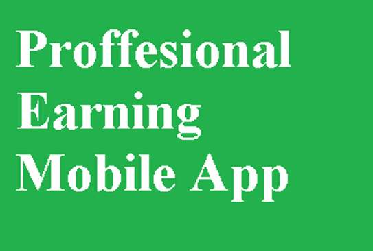 Mobile Apps(Earning Apps)
