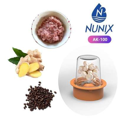 Nunix AK-100 2in1 Blender with Grinding Machine image 4