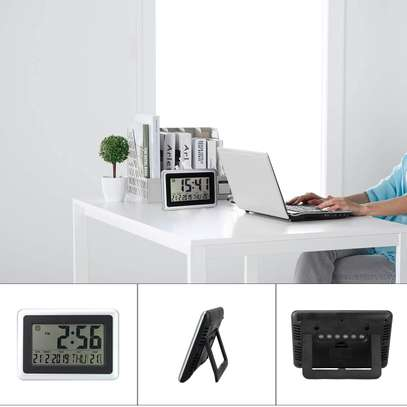 Digital LED Wall Clock With Alarm,Date,Temperature image 4