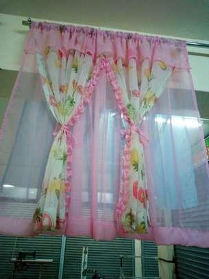 Modest kitchen curtains image 9