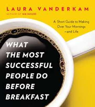 EBOOK - what the most successful people do before breakfast