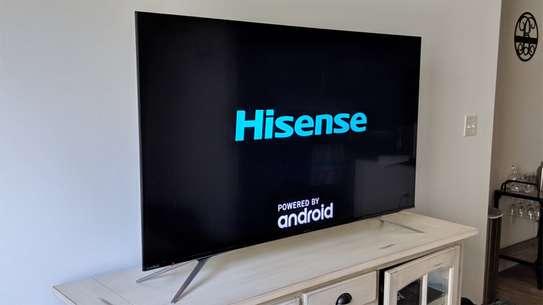 HISENSE 70 SMART ANDROID UHD FRAMELESS TV image 1