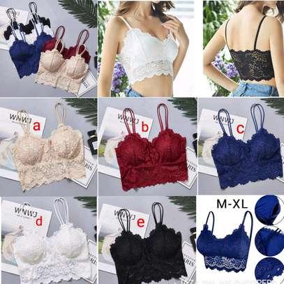 New Fancy free size ladies lace bras