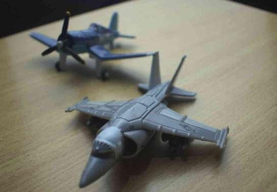 2 Pieces Metalic Kids Plane image 1