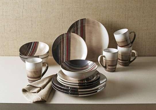 24 pieces Ceramic Dinner set image 3
