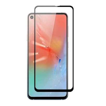 5D HD Clear Tempered Glass Front Screen Protector for Samsung A60 image 1
