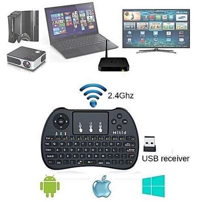Smart TV Wireless Keyboard with Mouse Touchpad Rechargeable