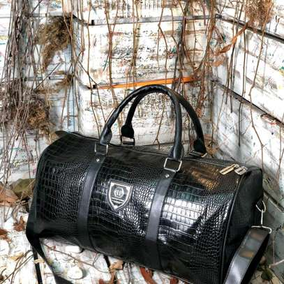 ITEM: *_Leather Duffle Bags._*???? image 9