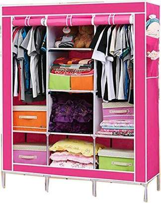 Portable Clothes Set Wardrobes image 3