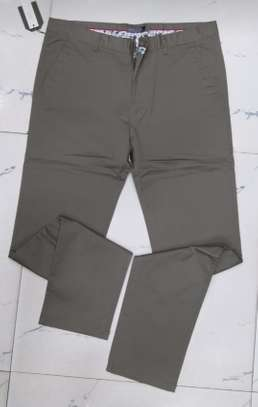 Men Soft Slim Fit  Khakis image 4