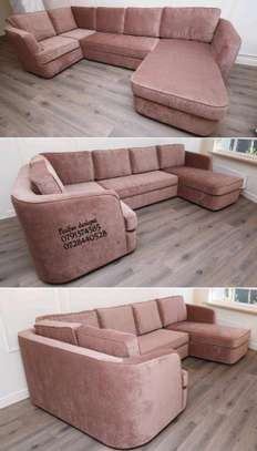 Modern sofas for sale in Nairobi Kenya/six seater L shaped sofa/sofas for sale in Nairobi Kenya image 1