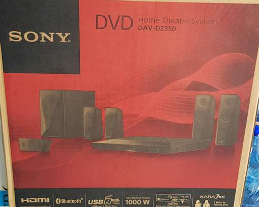 Sony DVD dz350 Home theater System 1000watts image 1