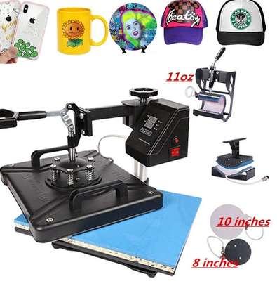 8 in 1 Heat Press Machine, Multifunction Sublimation Press Machine image 1