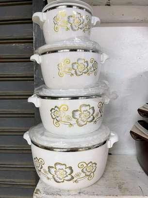 4pcs casserole hotpots image 1