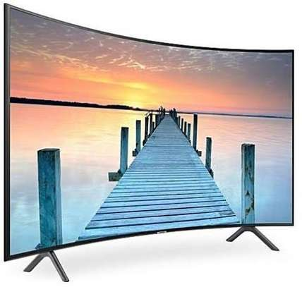 New Samsung 55 inches Curved Smart UHD-4K Digital TVs 55RU7300 image 1