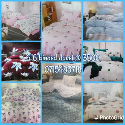 Binded duvets 6 by 6 image 1