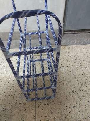 Metallic Portable shoe rack image 2