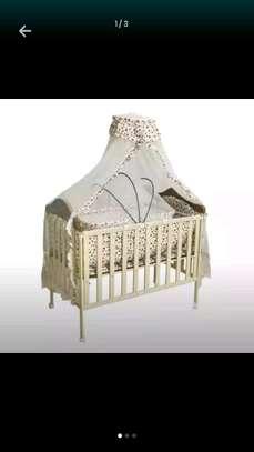 Metallic Baby Cot image 1