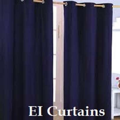 Heavy cotton curtains image 1