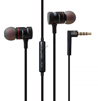 Awei ES70TY In-ear Earphone Metal Heavy Bass Sound Headset With MIC image 1