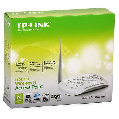 TP-Link 150Mps Wireless N Access Point TL-WA701ND image 1