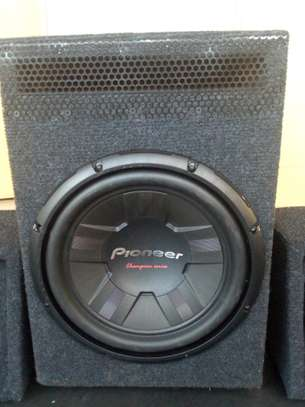 PIONEER TS-W311S4 DOUBLE COIL SUBWOOFER CABINET image 1