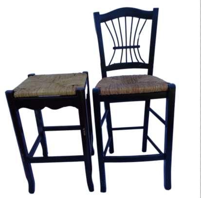 Vintage Splat-back Chair image 1