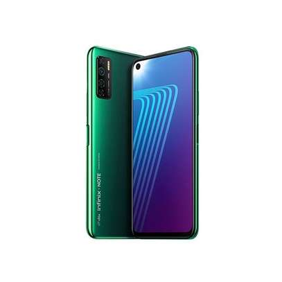 """Infinix NOTE 7 Lite-Android 10.0, 6.6"""", 4GB + 64GB,5000 MAh ,Jos,bf-Battery,forest Green image 1"""