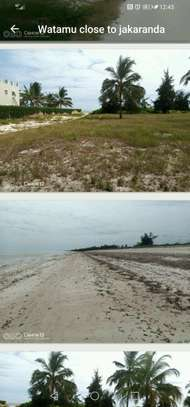 A 6 acres sand beach plot for sale in Malindi