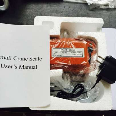 Digital Hanging Scale Heavy Duty Electric Crane Scale 500kg image 1