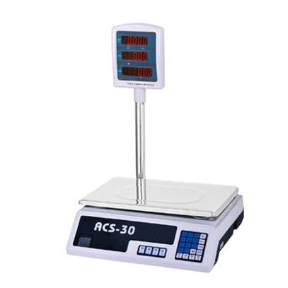 ACS-30 digital weight scale with pole. image 1
