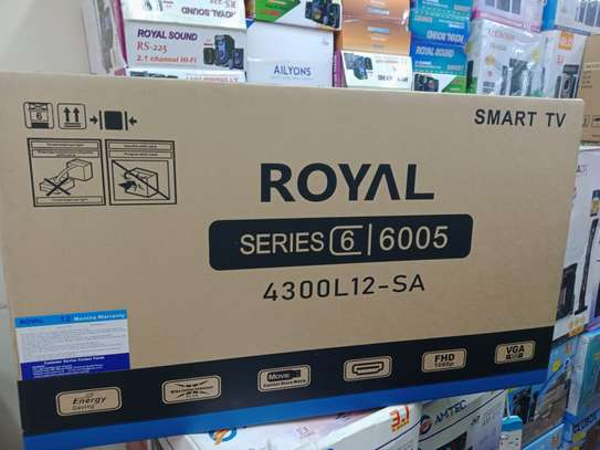Royal tv 43 inches smart image 1