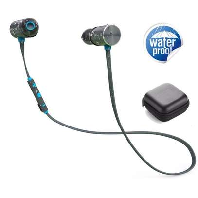 Plextone Wireless Headphone IPX5 Waterproof Dual Battery 8 Hours music time Bluetooth Sport Earphone for Running image 1