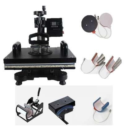 Combo Heat Press Machine 8 elements of printing image 1